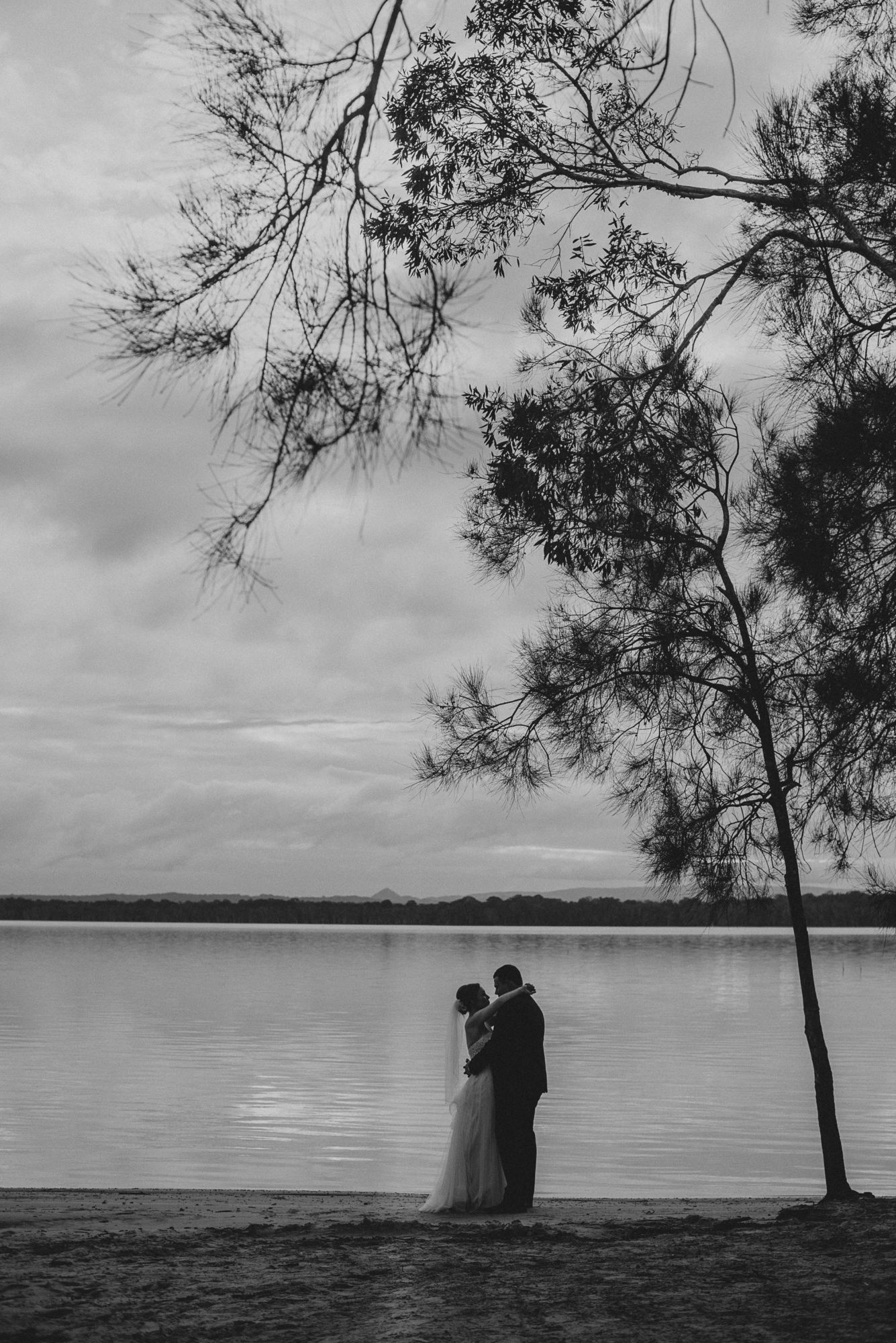 Bride and Groom Noosa North Shore
