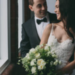 Brisbane wedding Bride wearing MXM Couture