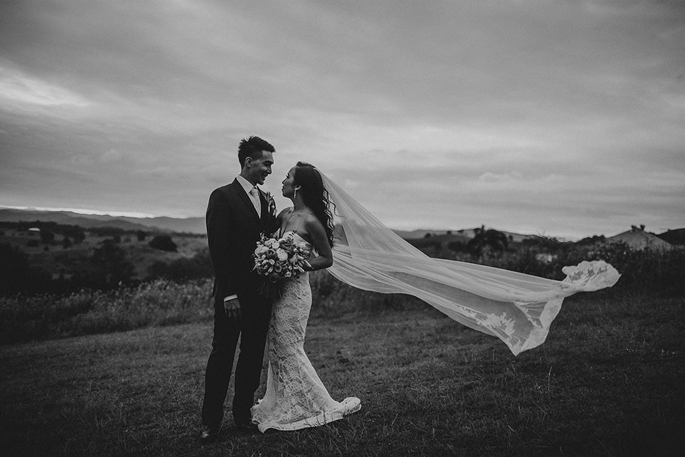 Just Married: Janelle and Gabriel's Glengariff Estate Wedding