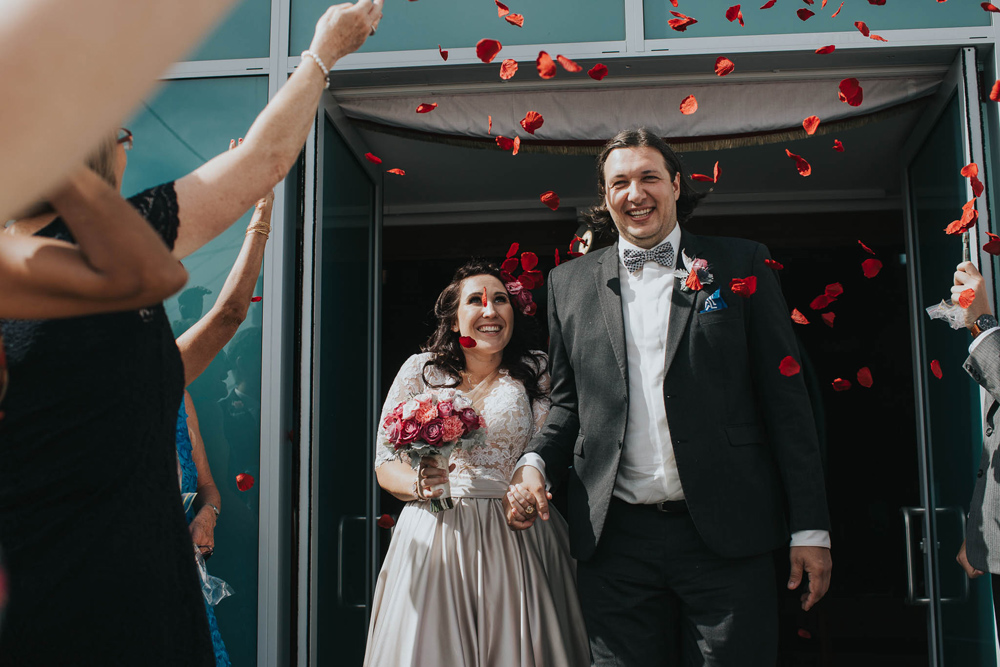 Just Married: Tanya and Grish's Brisbane Wedding