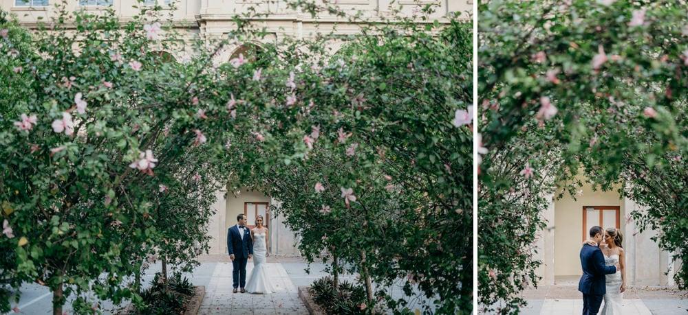 Bride and Groom portraits Brisbane by Cloud Catcher Studio