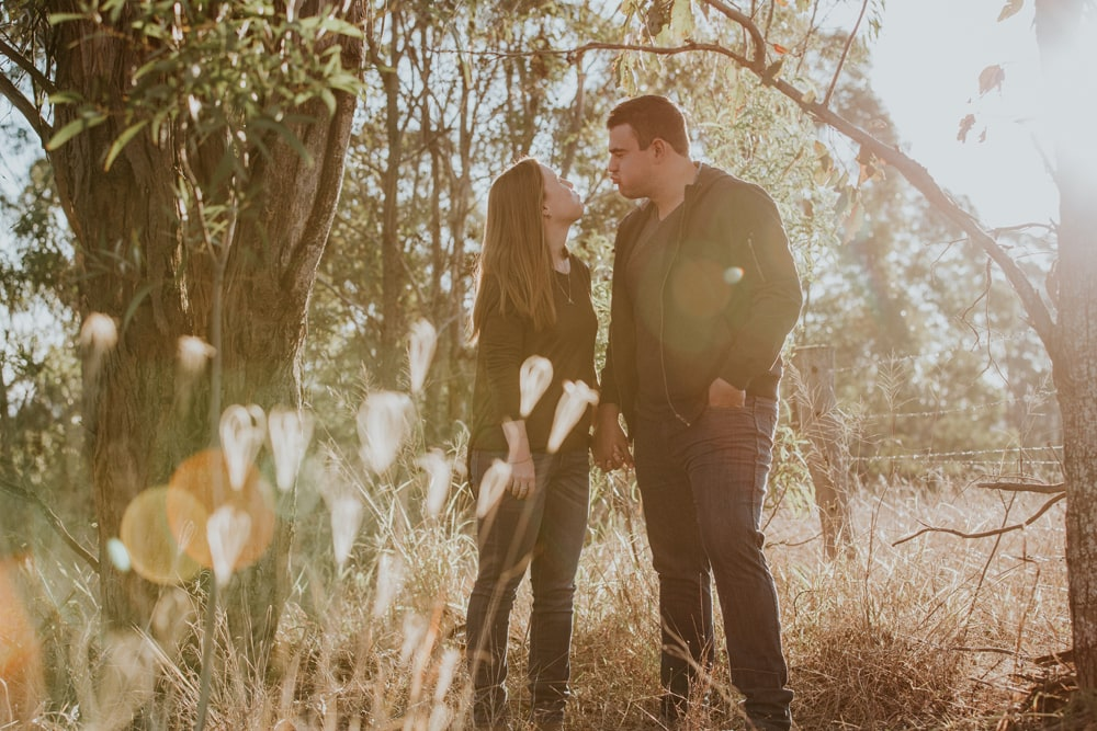 Candid engagement shoot Toowoomba