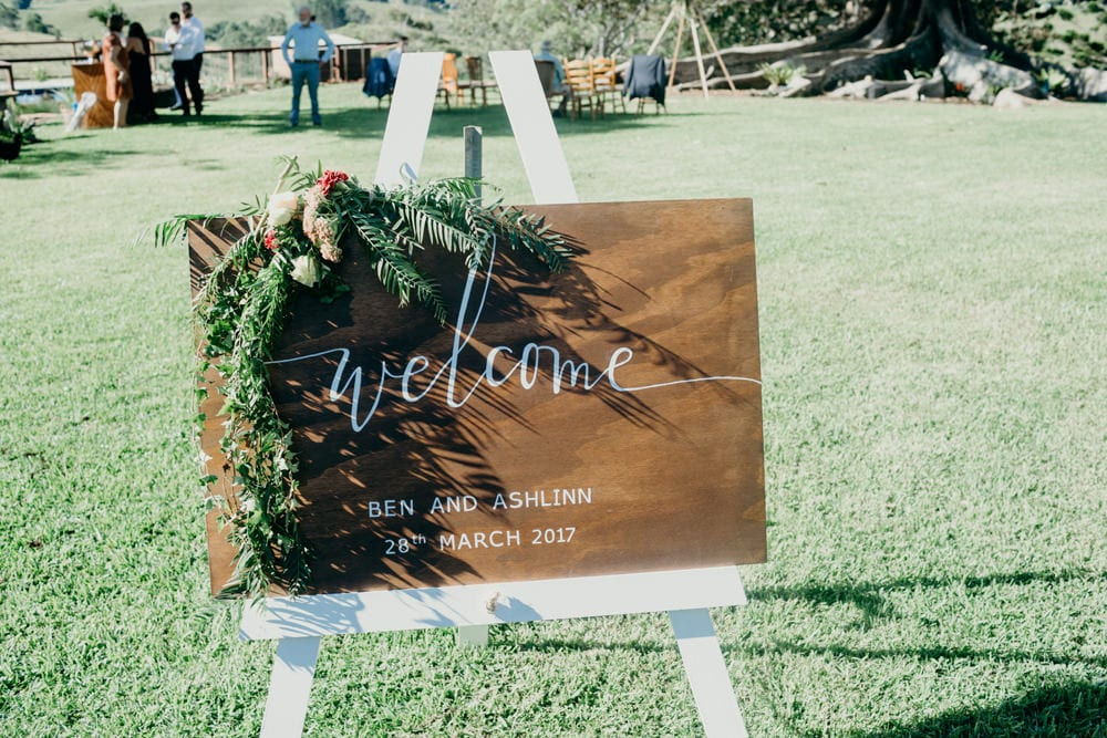 Ceremony details for Byron Bay Hinterland Wedding by Cloud Catcher Studio