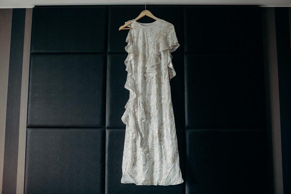 Bride's Bianca Spender Wedding dress - Brisbane wedding by Cloud Catcher Studio