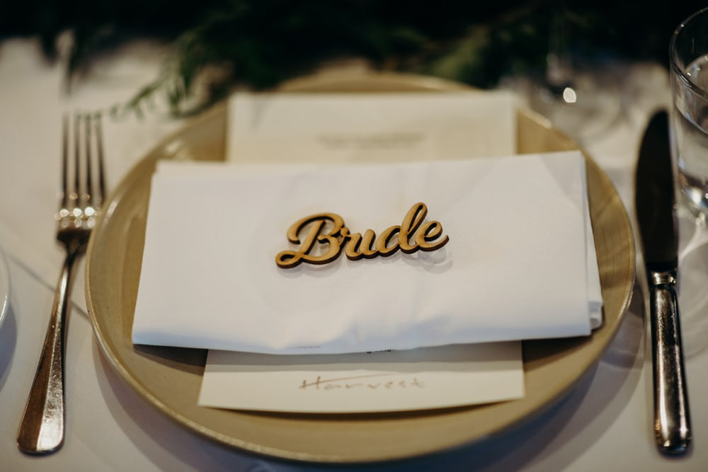 Harvest Newrybar Wedding Reception details by Cloud Catcher Studio