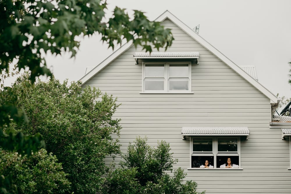 Bridesmaids getting ready Spicers Clovelly Estate Wedding by Cloud Catcher Studio