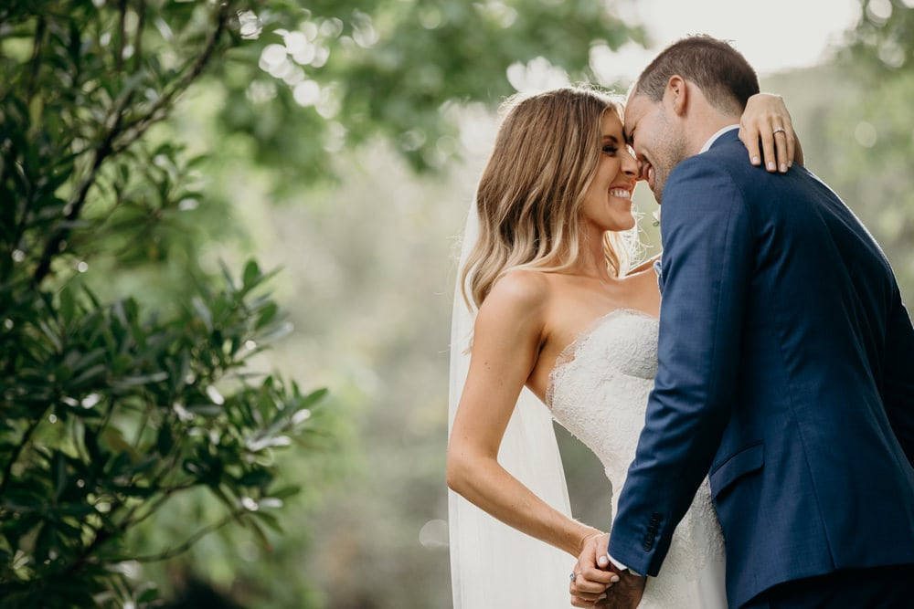 Bride and Groom natural portraits at Spicers Clovelly Estate Wedding by Cloud Catcher Studio