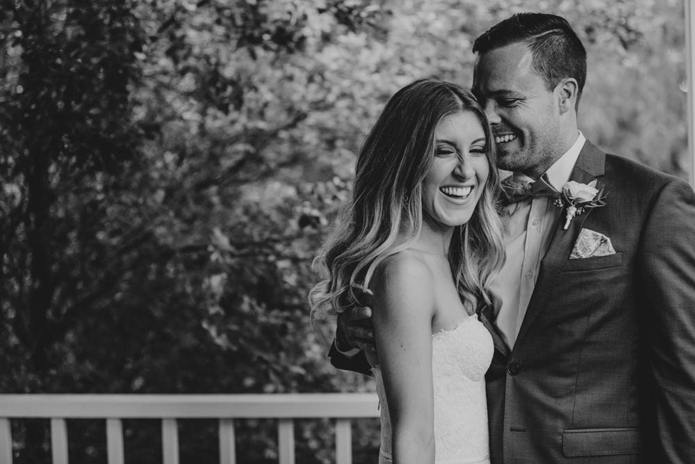 Candid photos of bride and groom at Spicers Clovelly Estate Wedding by Cloud Catcher Studio