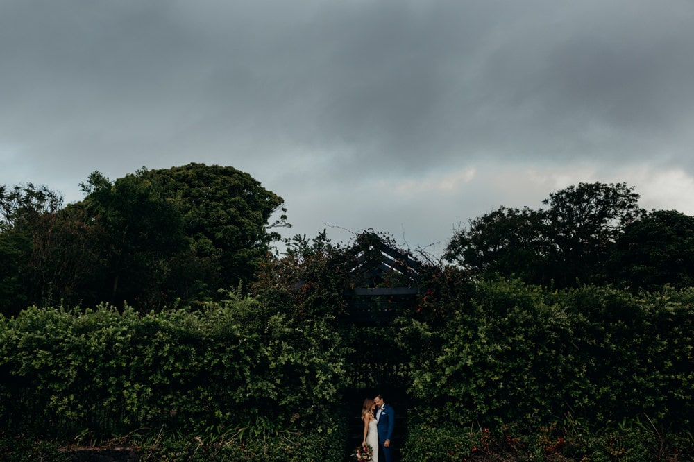 Candid photo of bride at groom at Spicers Clovelly Estate Wedding by Cloud Catcher Studio