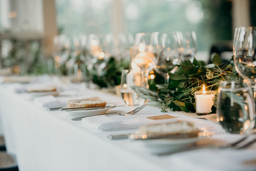 Wedding reception details at Spicers Clovelly Estate Wedding by Cloud Catcher Studio