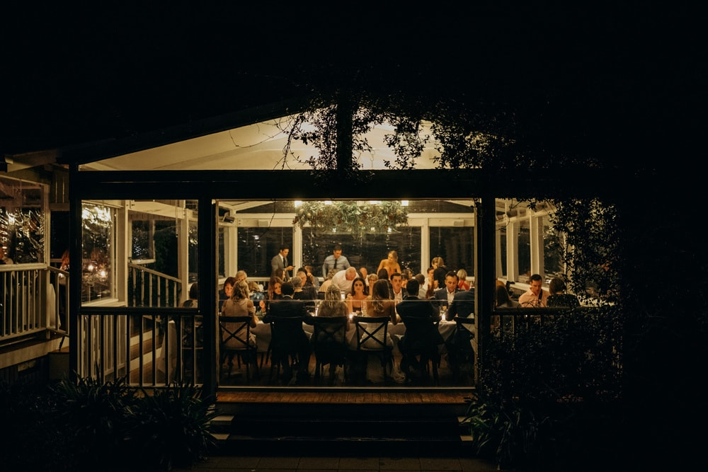 Reception photo from Spicers Clovelly Estate Wedding by Cloud Catcher Studio