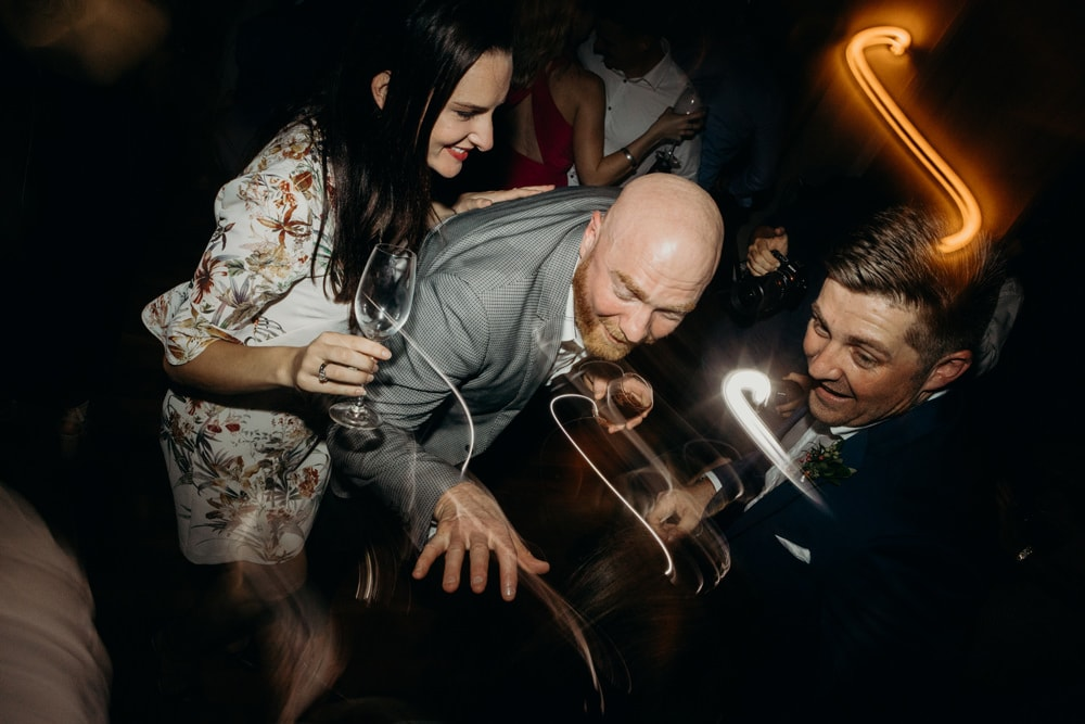 Dance floor madness at Spicers Clovelly Estate Wedding by Cloud Catcher Studio