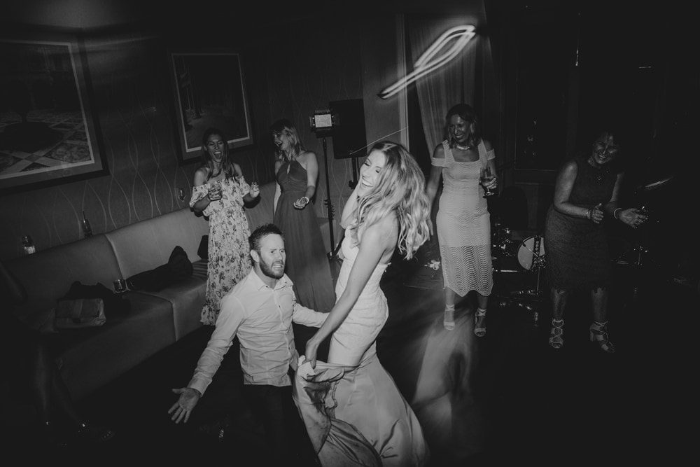 Crazy dance floor photos at Dance floor madness at Spicers Clovelly Estate Wedding by Cloud Catcher Studio