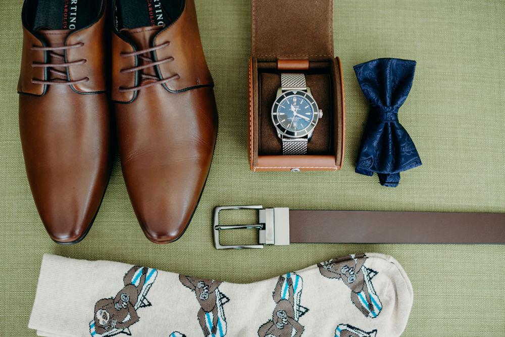 Groom's Details for Moda Portside Wedding by Cloud Catcher Studio
