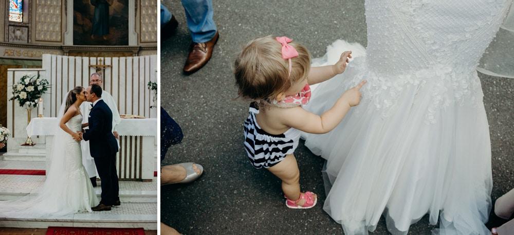 All Hallows Brisbane Church Wedding by Cloud Catcher Studio