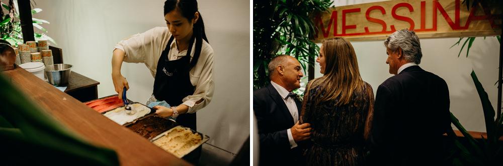 Gelato Messina Brisbane at Moda Portside Wedding Reception by Cloud Catcher Studio